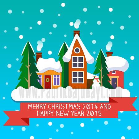 Banner Natal dan Tahun Baru